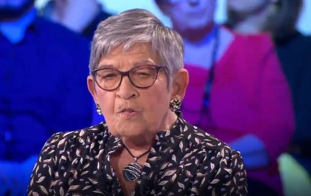Ginette Kolinka sur plateau d'On n'est pas couché le 1er juin