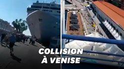 Un bateau de croisière hors de contrôle sème la panique à