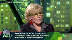 Mercedes Milá muestra en 'laSexta Noche' su apoyo a esta