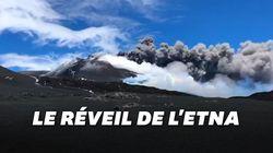 Les images captivantes de la nouvelle éruption de