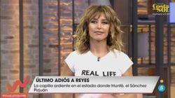 Emma García pide perdón a la audiencia por lo que ocurrió este sábado en 'Viva la