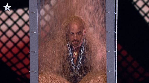 Britain's Got Talent: Jonathan Goodwin Buries Himself Alive As He Tops Own Record For Most Dangerous...