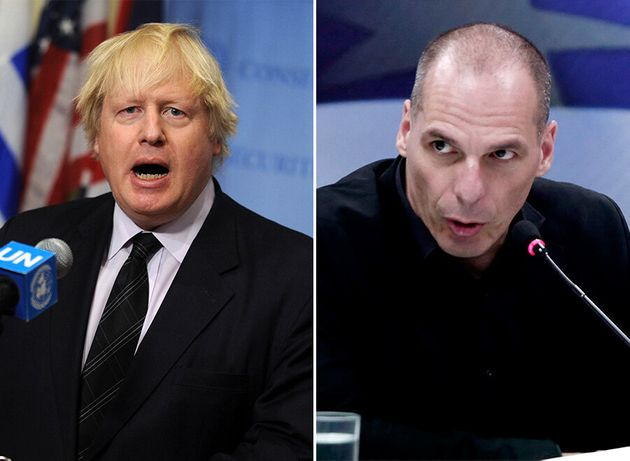 Why Boris Negotiating Brexit Would Be Just Like Varoufakis... Without The Leather