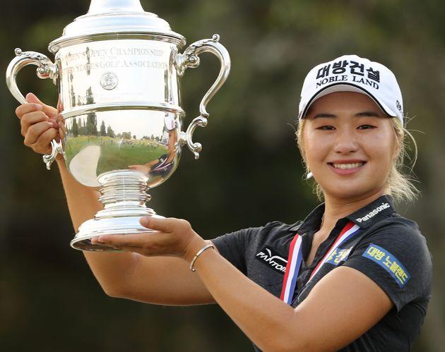 이정은의 'US여자오픈 우승'에 대한 LPGA의