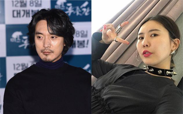 배우 김민준과 지드래곤 누나가 열애를