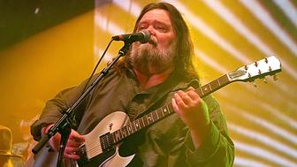 AUSTIN, TX - MAY 10:  (L - R) Fred Mitchum, Tommy Hall and Roky Erickson of the 13th Floor Elevators perform as a group for the first time in 45 years during the Levitation Festival at Carson Creek Ranch on May 10, 2015 in Austin, Texas.  (Photo by Gary Miller/Getty Images)