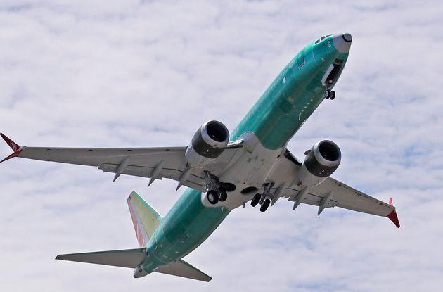 Boieng 737 MAX 8 lors d'un vol