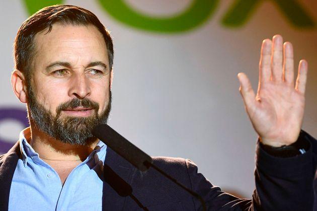 スペインの極右VOXのアバスカル党首