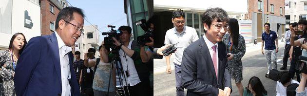 유시민과 홍준표가 '홍카레오' 유튜브 녹화 마친 후기를