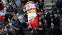Utrera despide a Reyes con un entierro
