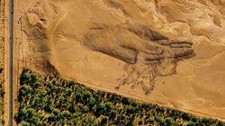 À Ouarzazate, une oeuvre format géant est sortie de terre pour la