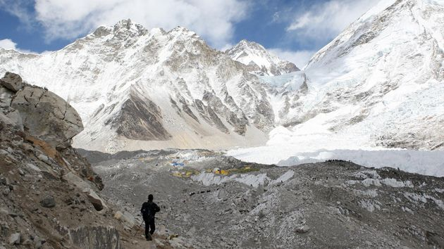 Five bodies have been found during a search for eight missing climbers in the Indian