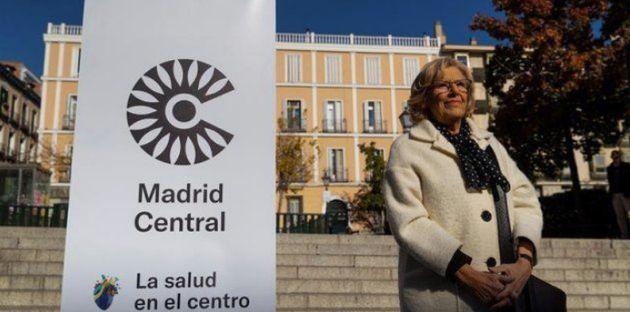 La contaminación en el centro de Madrid cae a
