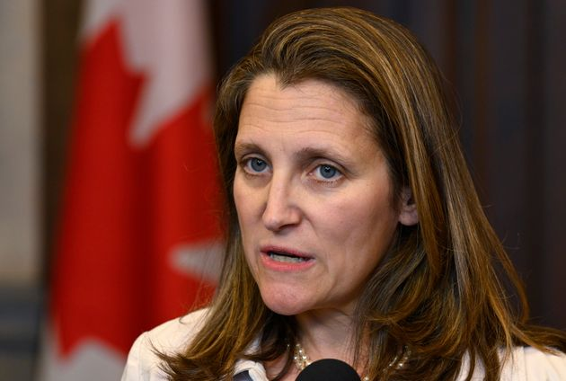 Foreign Affairs Minister Chrystia Freeland, seen here on May 31, 2019, in Ottawa, says the Maduro regime...