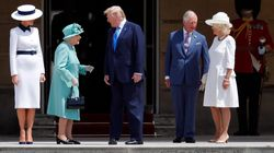 Donald Trump Meets The Queen At Buckingham