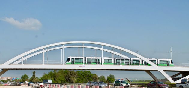 Entrée en service commercial de la première partie de l'extension de la ligne de tramway de