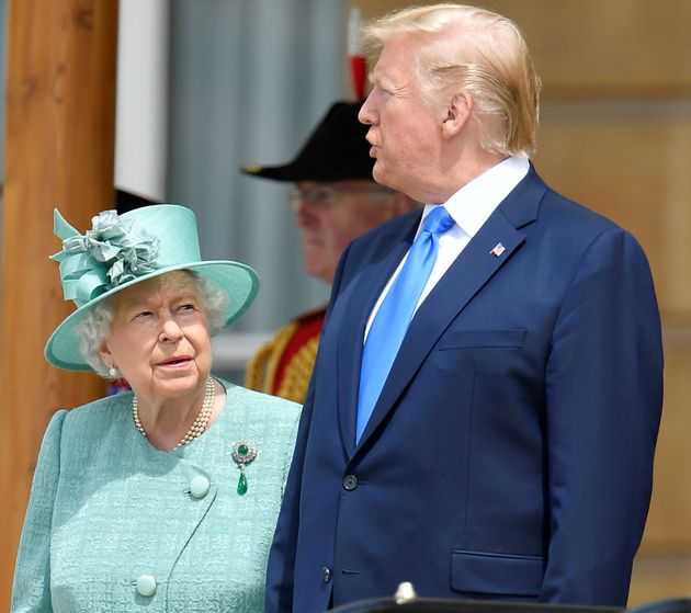 Trump sbarca a Londra e attacca il sindaco:
