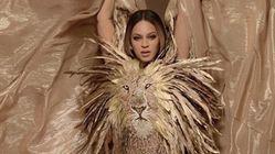 Beyoncé renversante dans cette combinaison dorée inspirée du