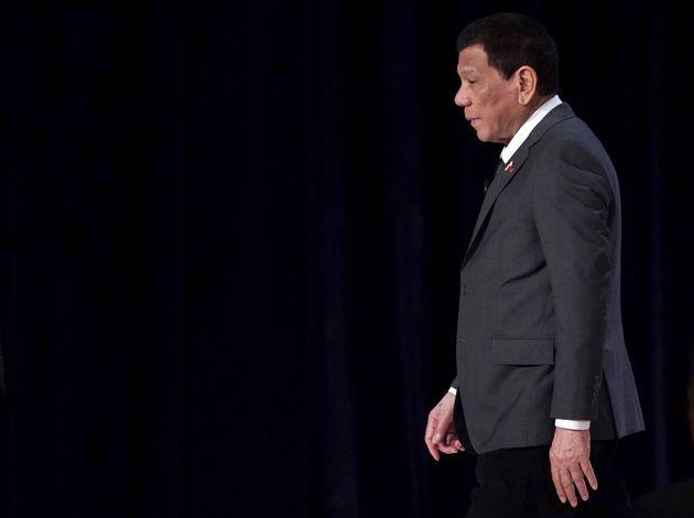 Il presidente delle Filippine Duterte: