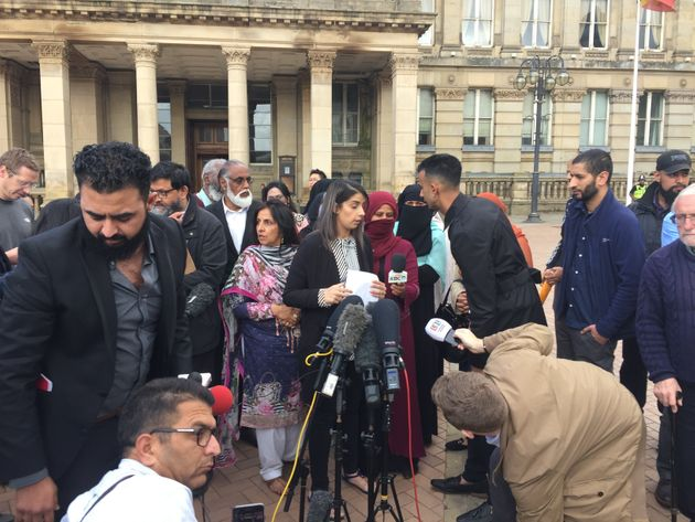 Protests Against LBGT Lessons In Birmingham Move To Local Council Following School Gate