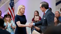 Gillibrand Shuts Down Fox News Host Who Asked About Men's 'Seat At The