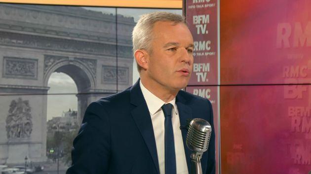 François de Rugy, ministre de la Transition écologique, interviewé lundi 3 juin...