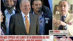 """Jaime Peñafiel muestra su indignación tras la jubilación de Juan Carlos I: """"Hay una mano"""