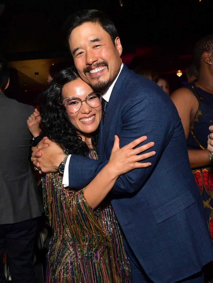 Ali Wong and Randall Park are always each other's maybes.