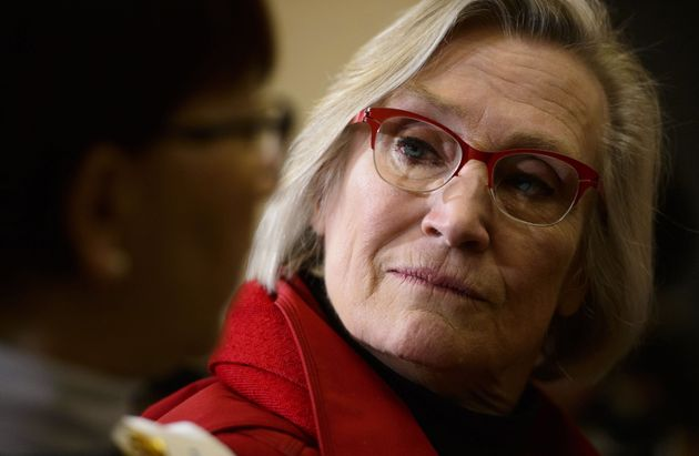 Crown-Indigenous Relations Minister Carolyn Bennett is seen here in Iqaluit on March 8, 2019. Bennett...