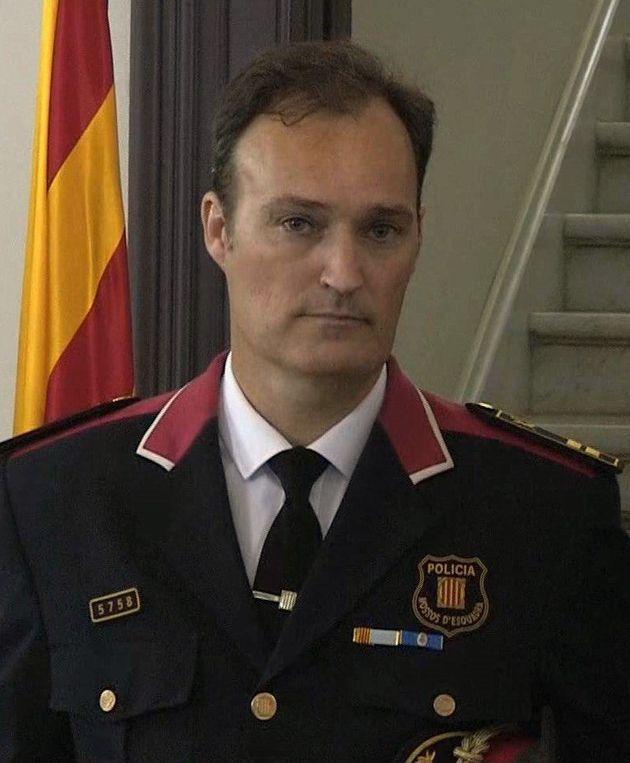 Destituido el jefe de los Mossos tras diez meses en el