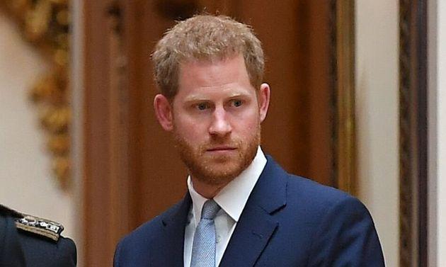 La mirada del príncipe Harry a Trump (después de insultar a Meghan Markle) lo dice