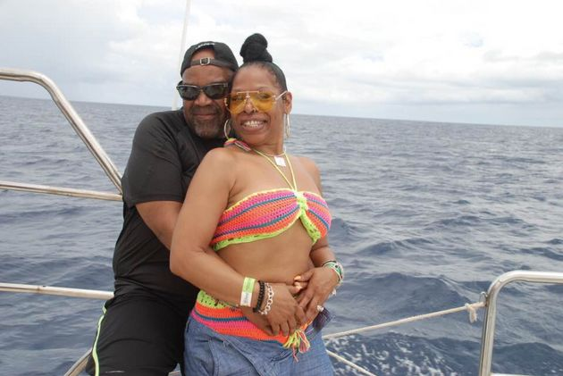 Nathaniel Edward Holmes (left) and Cynthia Ann Day (right) were found unresponsive in their room at Bahía...
