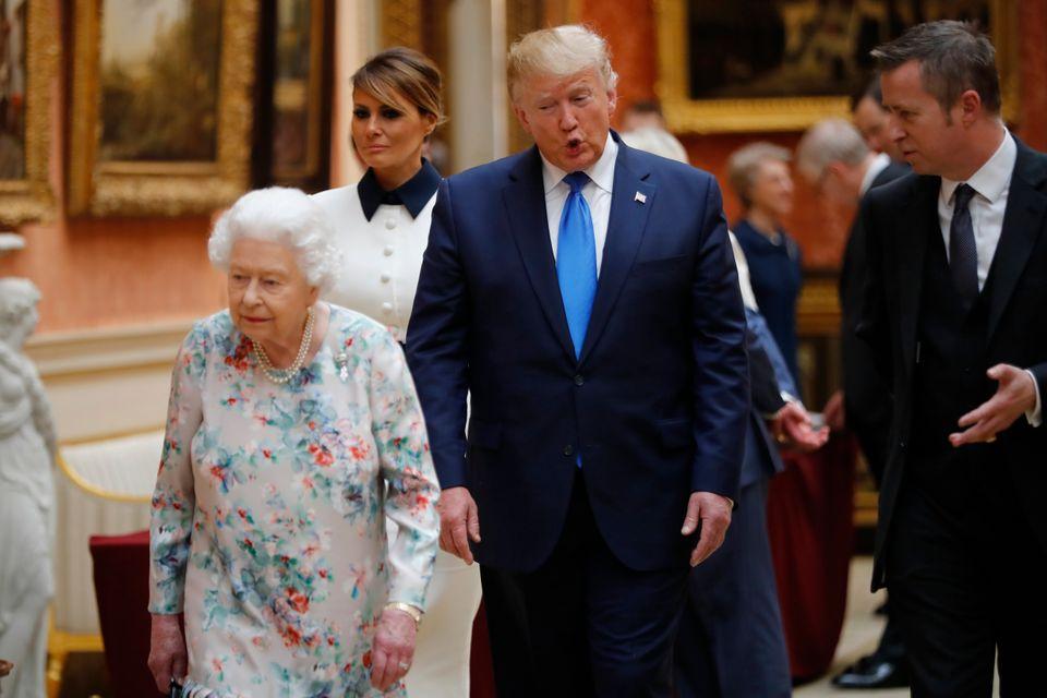Επίσημη επίσκεψη Τραμπ στο Λονδίνο: Η πρώτη μέρα σε