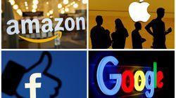 Nel mirino delle autorità Usa, crollano Google, Facebook, Amazon e