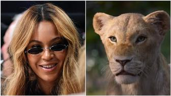 Beyonce is Nala in Lion King