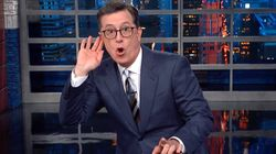 Colbert Reveals What's Really Going On In Bizarre Images Of Trump's Royal