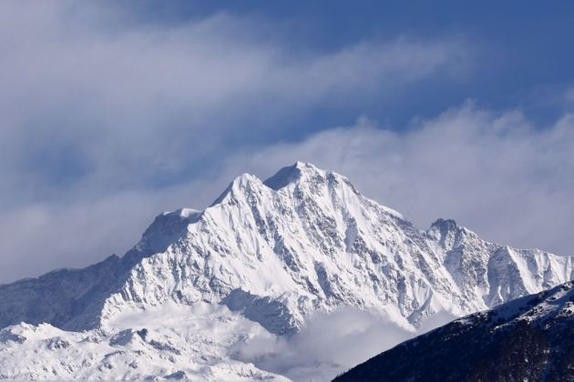 A view of Himalayan ranges including Trishul, Nanda Devi, Chaukhamba from the Chopta Valley in the Rudrapragya...