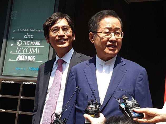 유시민과 홍준표가 합동 방송 '홍카레오'에서 말한