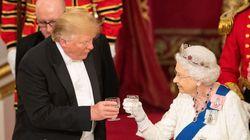 Trump al banchetto con la Regina, 170 invitati con 16 reali a tavola (senza Meghan). Brindisi