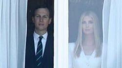 Cette photo d'Ivanka Trump et son mari est digne d'un film
