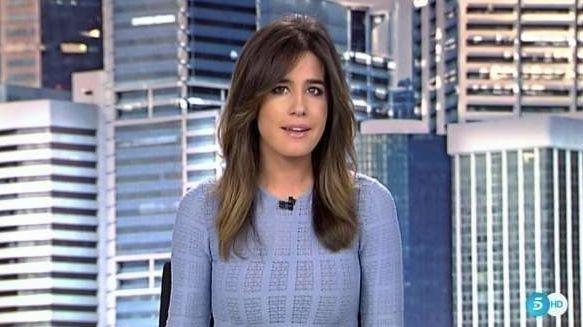 Isabel Jiménez ('Informativos Telecinco') responde a los comentarios que ha tenido que soportar tras...