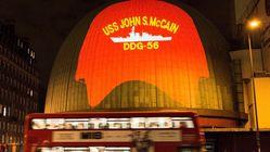 Les façades de Madame Tussaud, Big Ben et la Tour de Londres trollent