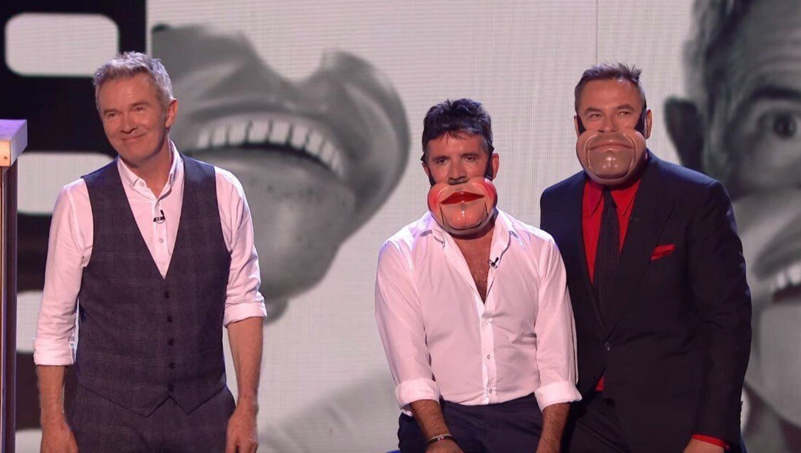 Britain's Got Talent contestant Jimmy Tamley brought Simon Cowell and David Walliams onto the stage for his semi-final act  (ITV)