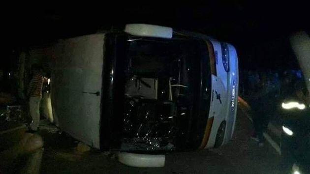 Imsouane: 3 morts et 44 blessés suite au renversement d'un