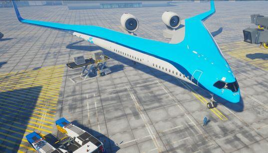Cet avion en forme de V pourrait économiser 20% de