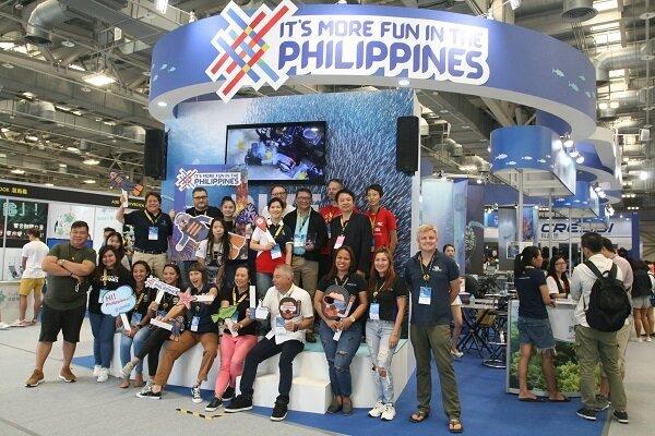 今年共有11家菲律賓潛水廠商來台參展
