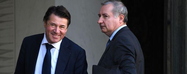 Christian Estrosi et Jean-Luc Moudenc, les maires de Nice et Toulouse se voient offrir une deuxième...