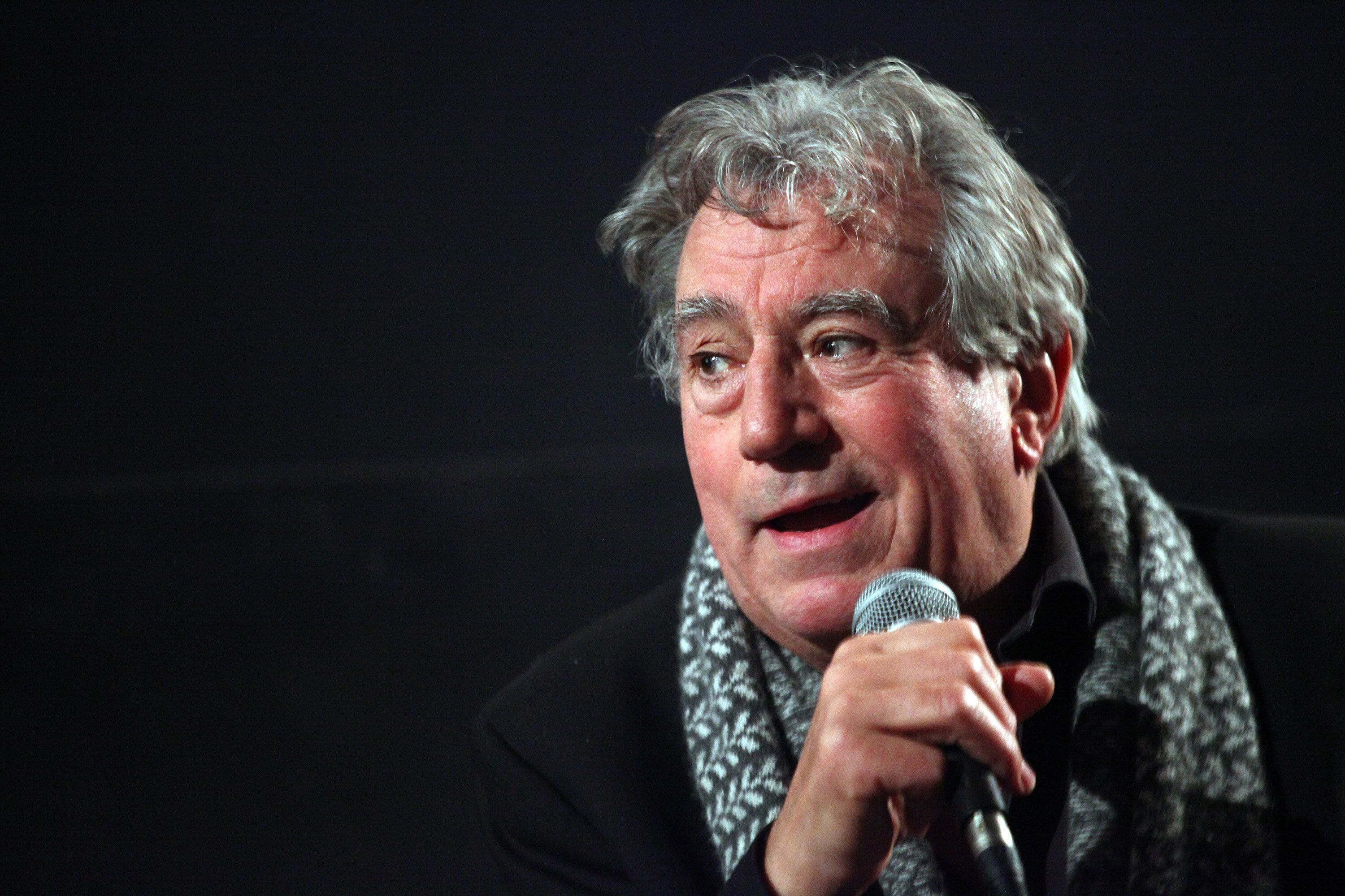 HOLLYWOOD, CA - DECEMBER 14:  Actor Terry Jones attends the American Cinematheque presents Monty Python's Terry Jones in conversation with Edgar Wright held at the American Cinematheque's Egyptian Theatre on December 14, 2014 in Hollywood, California.  (Photo by Tommaso Boddi/WireImage)