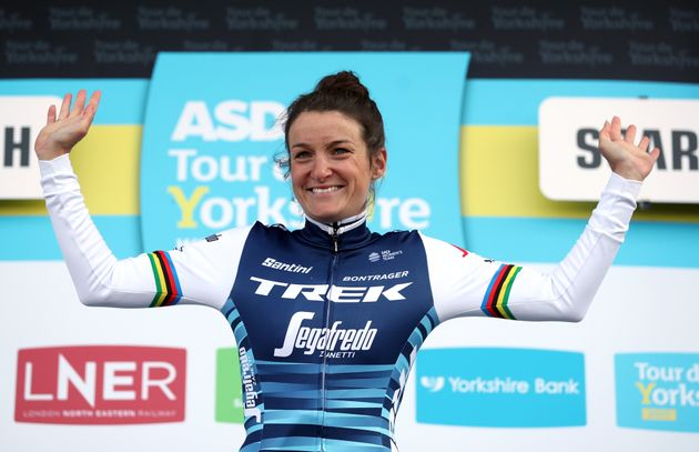 Lizzie Deignan On Her Cycling Comeback: 'It's Not About Giving 100%, 100% Of The Time'