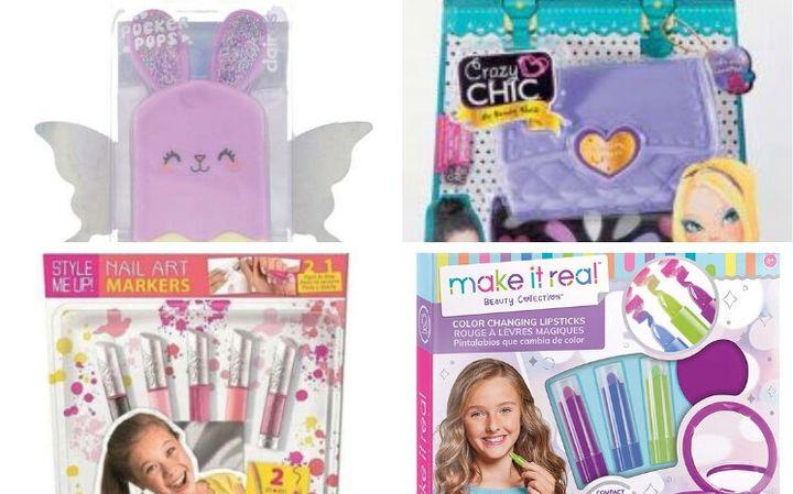 Au total, neuf produits cosmétiques pour les enfants ont été testés par l'association.